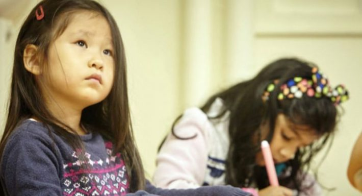 enseignement bilingue à la maternelle