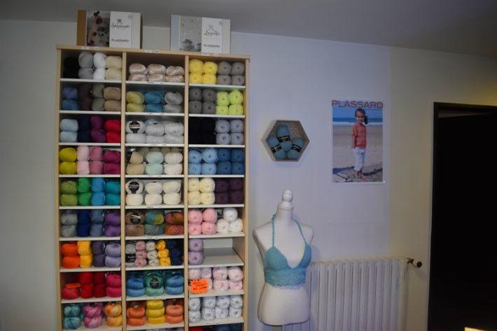 magasin de laines